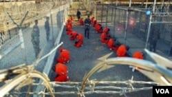 گوانتانامو کا امریکی فوجی حراستی مرکز