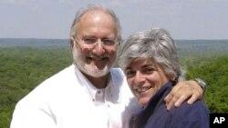 La mujer de Gross dice que su marido goza de buena salud.