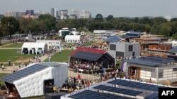 Takmičenje konstruktora solarnih kuća održano je na Nacionalnom molu u Vašingtonu