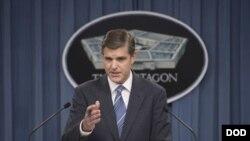 피터 국 미 국방부 대변인 (자료사진)