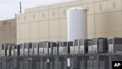 Pabrik mesin pendingin (AC) Carrier di kota Indianapolis, Indiana (foto: dok).