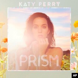 "This photo provided by Capitol Records shows the cover of Katy Perry's new album, ""Prism."""