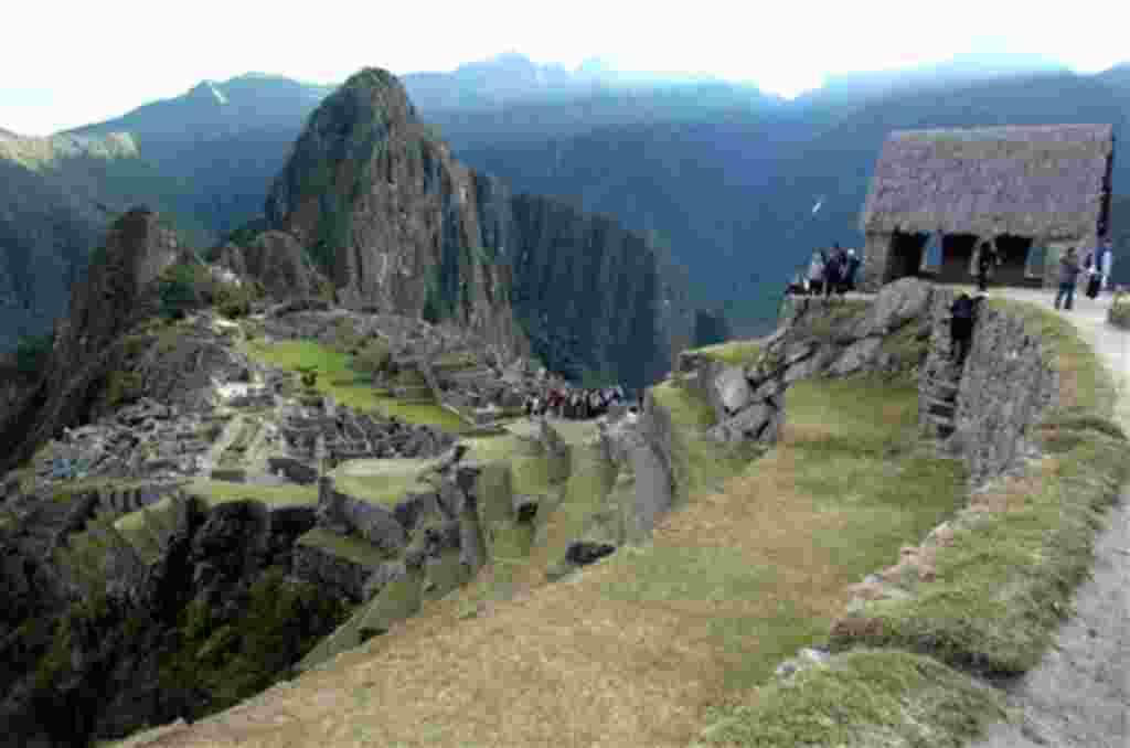 Las ruinas de Machu Picchu, cerca de la ciudad peruana de Cuzco.