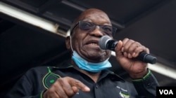 Rais wa zamani wa Afrika Kusini Jacob Zuma