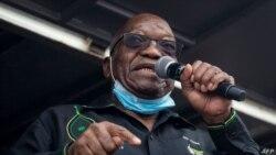 南非前總統祖馬被監禁後提出上訴