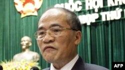 Chủ tịch Quốc hội Việt Nam Nguyễn Sinh Hùng