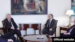 Հայաստանի արտգործնախարար Նալբանդյանի հանդիպումը ԵԱՀԿ ՄԽ-ի համանախագահների հետ, Երևան, 05 փետրվարի 2014թ. (արխիվային լուսանկար)