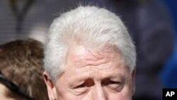 比尔·克林顿(资料照片)