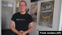 Markus Beckedahl, Netzpolitik,org'un kurucusu ve baş editörü