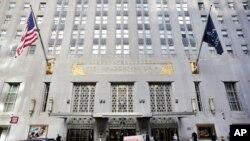 纽约著名的华尔道夫酒店