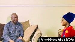 Dan takarar Shugaban kasa na Jam'iyar People's Trust, Joel Gbenga Olawepo Hashim