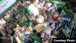 Plastic Bottles are a major source of pollution. (Photo: Groundwork Anacostia River DC)