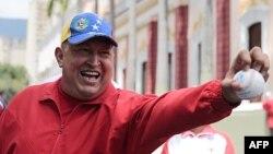 Президент Венесуэлы Уго Чавес