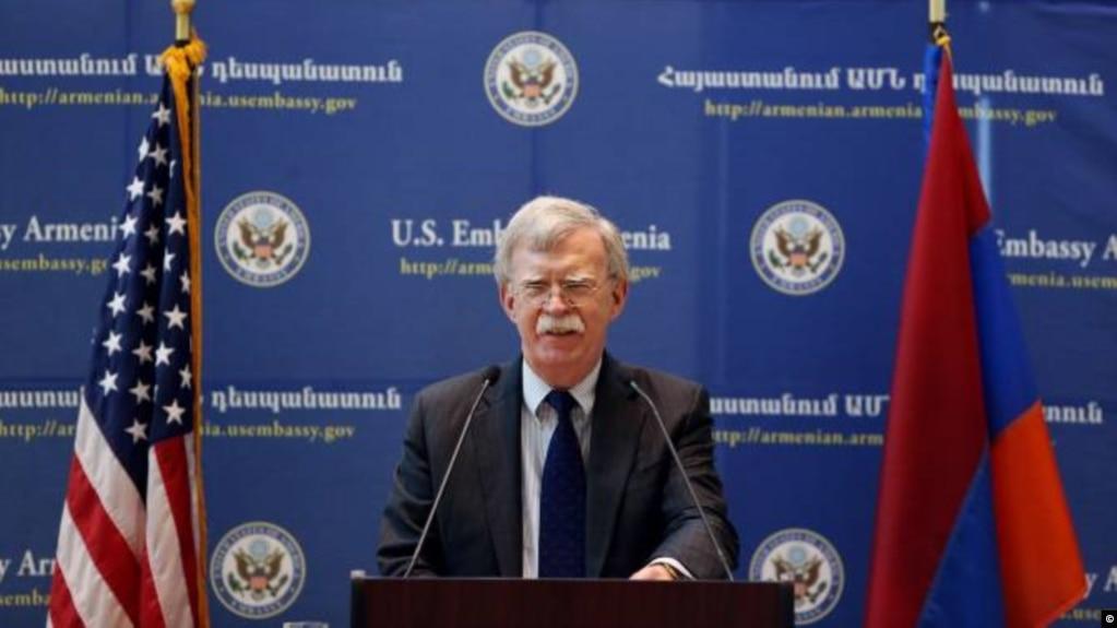 Болтон: «У нас успешно идут дела с Россией, когда стороны прямо обозначают свои национальные интересы»