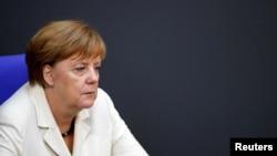 德国总理默克尔(资料图片)
