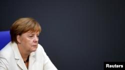 앙겔라 메르켈 독일 총리. (자료사진)