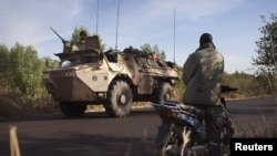 Des soldats français près de Niono, dans le centre du Mali, le 19 janvier 2013.