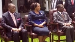 UPriscilla Chigumba Ugcotshwa Ukuba Ngumgcinisihlalo weZEC