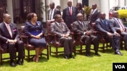 Justice Priscilla Chigumba was sworn in Thursday by President Emmerson Mnangagwa as new ZEC chairperson.