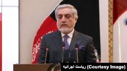 Kepala Eksekutif (CEO) Afghanistan untuk Pemerintah Persatuan Nasional, Abdullah Abdullah