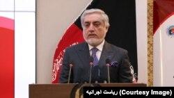 Abdullah Abdullah, Əfqanıstanın Baş İcra Katibi