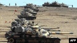 پس از حملات اخیر در ترکیه، نیروهای آن کشور یک عملیات گستردۀ نظامی را در برابر گروۀ داعش و جنگجویان کرد در سوریه آغاز کرده است