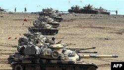 تانک های ترکیه در داخل خاک سوریه