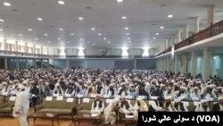 د افغانستان له کوټ کوټ راټولو شویو نه شاوخوا ۲۵۰۰ دیني عالمانو فتوا ورکړه چې د طالبانو ځانمرګي بریدونه حرام دي