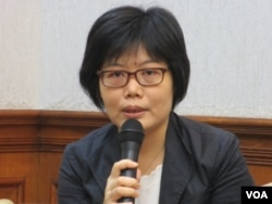 台灣文化部人文及出版司副司長王淑芳