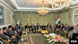 Talabani and Maliki 19sep12