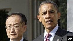 奥巴马总统提名金勇为下届世行行长