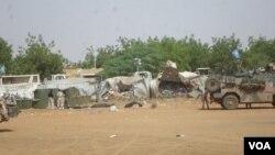 Un Casque bleu chinois et trois civils tués dans une attaque contre l'ONU au Mali, le 6 juin 2016.