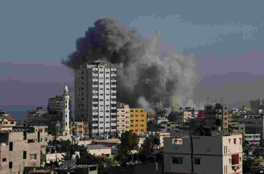 İsrail Qəzza şəhərini artelleriya atəşinə tutub - 30 iyul, 2014