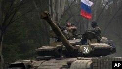 EE.UU. también acusó a Rusia de estar aumentando el suministro de armas a los separatistas pro-rusos.
