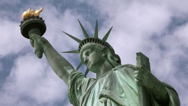 The Statue of Liberty is one of the most popular places to visit in the Big Apple