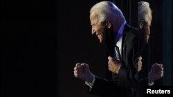 Resim olmayan sonuçlara göre ABD'nin yeni Başkanı seçilen Joe Biden