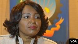 Angola Ministra do Comércio, Rosa Pacavira de Matos
