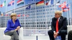 VOA连线(黄耀毅):川普称德国是俄罗斯俘虏,要北约国家增加军费到4%