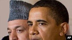 """奧巴馬向卡爾扎伊表示""""悲哀""""。"""