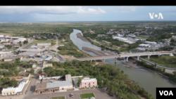 Kota Roma di negara bagian Texas (tangkapan layar: VOA).