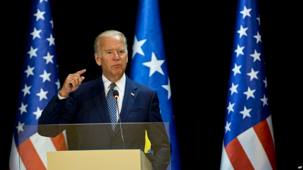 Nënpresidenti amerikan Joe Biden në Kosovë
