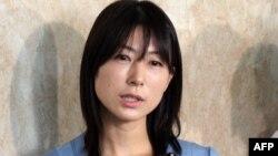 Ayaka Shiomura, insultée par ses collègues de l'assemblée de Tokyo (Photo AFP)