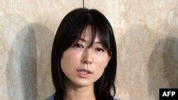 Ayaka Shiomura, anggota Dewan Kota Tokyo di Balai Kota Tokyo (19/6).