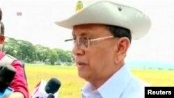 테인세인 미얀마 대통령. (자료사진)
