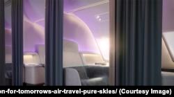 Pure Skies Room passenger cabin design