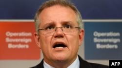 澳大利亚财政部长斯科特·莫里森 (资料照片)