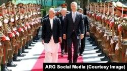منشی عمومی ناتو و وزیر دفاع ایالات متحده روز چهارشنبه با رئیس جمهور افغانستان ملاقات کردند.