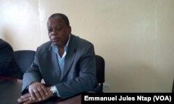Maître Dissake, n'a pas retrouvé sa femme, 6 mois après le déraillement du train de Camrail, le 15 mai 2017. (VOA/Emmanuel Jules Ntap)