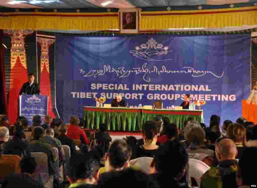 ອົງການປຸກລະດົມສາກົນເພື່ອສະໜັບສະໜຸນທິເບດ ຫລື International Tibet Support Group ຮຽກປະຊຸມພິເສດ ໃນວັນອາທິດມື້ນີ້