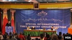 世界支持西藏人士特別聚會(資料照片)